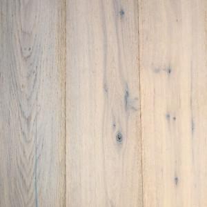 LeBois parket XL vintage eiken geborsteld, wit geolied