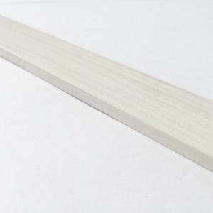 Plakplint AC-1409 wit houtmotief