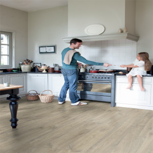 Quickstep Creo 7mm beige eik Louisiana