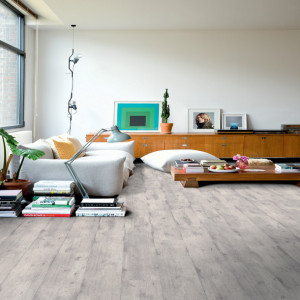Quickstep Impressive Ultra 12mm lichtgrijs beton