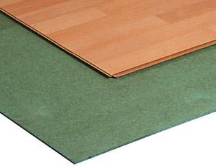 Ondervloer op hout